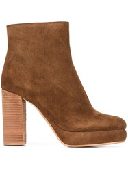 See By Chloe 'Liza' Boots Brown