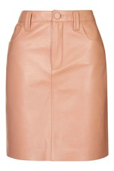Draycott Leather Skirt By Unique Blush
