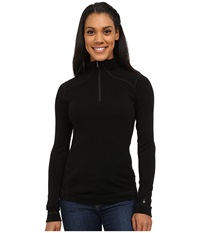 Smartwool Nts Mid 250 Zip Top Black Women's Long Sleeve Pullover