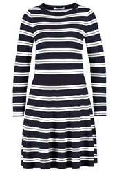 Lacoste Jumper Dress Marine Farine Dark Blue