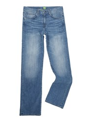 Hugo Boss Kansas Regular Fit Light Wash Jean Denim Light Wash