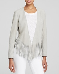 Moon And Meadow Suede Fringe Hem Jacket Bloomingdale's Exclusive