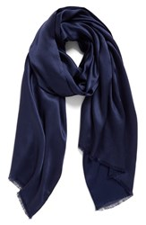 Echo Women's Hammered Silk And Rayon Wrap Navy