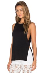 Nightcap Side Knot Tank Black