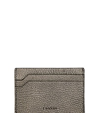 Lanvin Flat Leather Card Holder Black