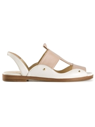 Maiyet Double Band Sandals Nude And Neutrals