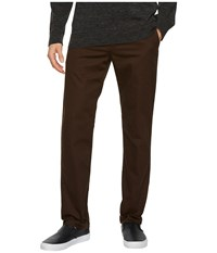 Vans Authentic Stretch Chino Pants Demitasse Casual Pants Brown