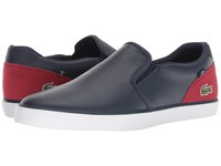 Lacoste Jouer Slip 318 2 Navy Red Shoes Multi