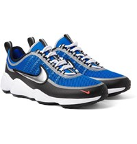 Nike Zoom Spiridon Ultra Mesh And Neoprene Sneakers Bright Blue