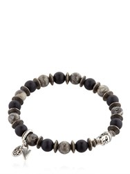 Bootleggers Black Onyx And Imperial Gray Bracelet
