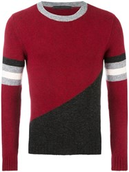 Daniele Alessandrini Crew Neck Jumper Red