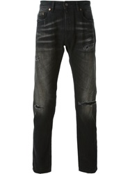Diesel Black Gold 'Type 253' Distressed Jeans