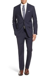 Todd Snyder Men's White Label 'May Fair' Trim Fit Solid Stretch Wool Suit Navy