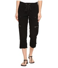 Xcvi Emerson Crop Black Women's Casual Pants