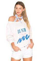 Wildfox Couture Beach Bum Top Pink
