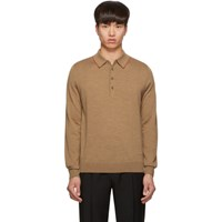 Paul Smith Ps By Tan Knit Polo
