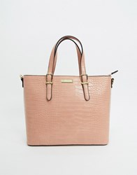 Carvela Structured Tote Bag In Pink