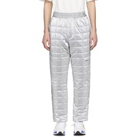 Ambush Silver Quilted Lounge Pants