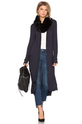 Michael Stars Duster Cardigan Navy