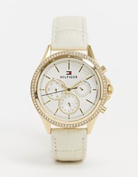 Tommy Hilfiger 1781982 Cream Strap Watch