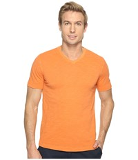 Mod O Doc El Porto Short Sleeve V Neck Tee Tropicana Men's T Shirt Orange