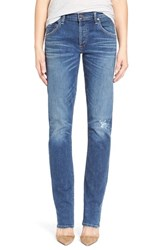 Women's Citizens Of Humanity 'Emerson Long' Slim Boyfriend Jeans Blue Mountain
