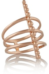 Arme De L'amour Rose Gold Plated Ring