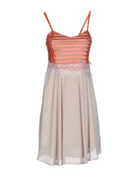 Giorgia And Johns Giorgia And Johns Dresses Short Dresses Women Orange