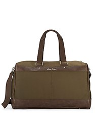 Robert Graham Two Tone Duffel Bag Olive