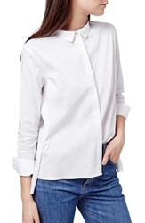 Women's Topshop Pleated Blouse
