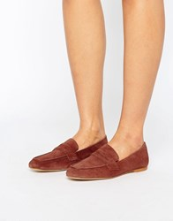 Vero Moda Leather Soft Loafer Arabian Spice Tan