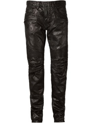 Balmain Varnished Jeans