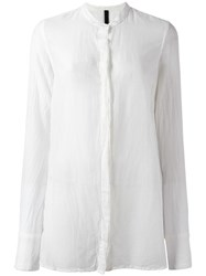Poeme Bohemien 'Korean' Shirt White