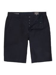 Peter Werth Cleave Pindot Cotton Shorts Navy
