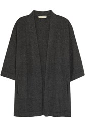 Michael Michael Kors Wool Blend Cardigan Anthracite