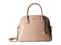 Michael Michael Kors Mercer Large Dome Satchel Ballet Satchel Handbags Brown