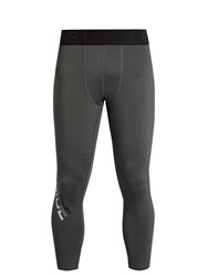 The Upside Lock Up Cropped Performance Leggings Grey