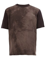 Lanvin Paisley Pattern T Shirt Brown