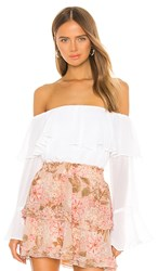 Show Me Your Mumu Love Spell Top In White.