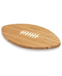 Picnic Time New England Patriots Ball Shaped Cutting Board Burlywood