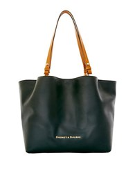 Dooney And Bourke City Leather Flynn Tote Black