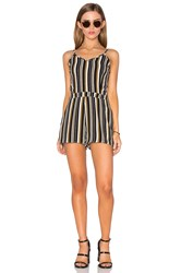 Lucca Couture Fitted Romper Black