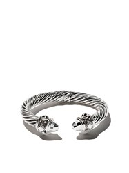 David Yurman Renaissance Cable Cuff Bracelet Metallic