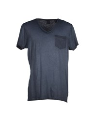 Maison Scotch Topwear T Shirts Men Steel Grey