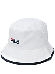 Fila Shell Bucket Hat White
