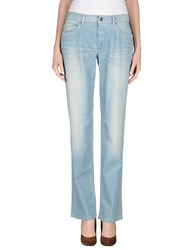 Trussardi Jeans Denim Denim Trousers Women Blue