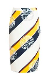 Raoul Printed Pencil Skirt