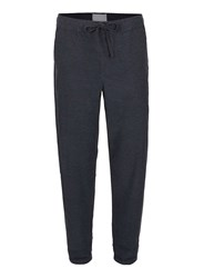 Topman Blue Premium Navy Textured Elasticated Waist Skinny Chinos