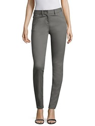 St. John Stretch Denim Bardot Jeans Grey