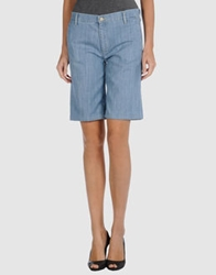 Mih Jeans Denim Bermudas Blue